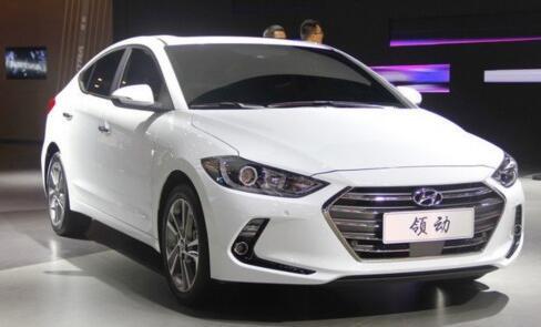 试驾体验北京现代全新车型领动
